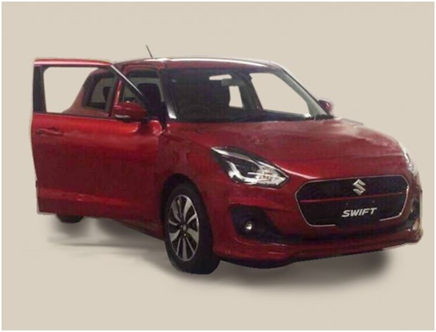 2017 Suzuki Swift Spied Undisguised 1