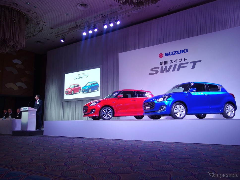 2017 Suzuki Swift Launched in Japan 1