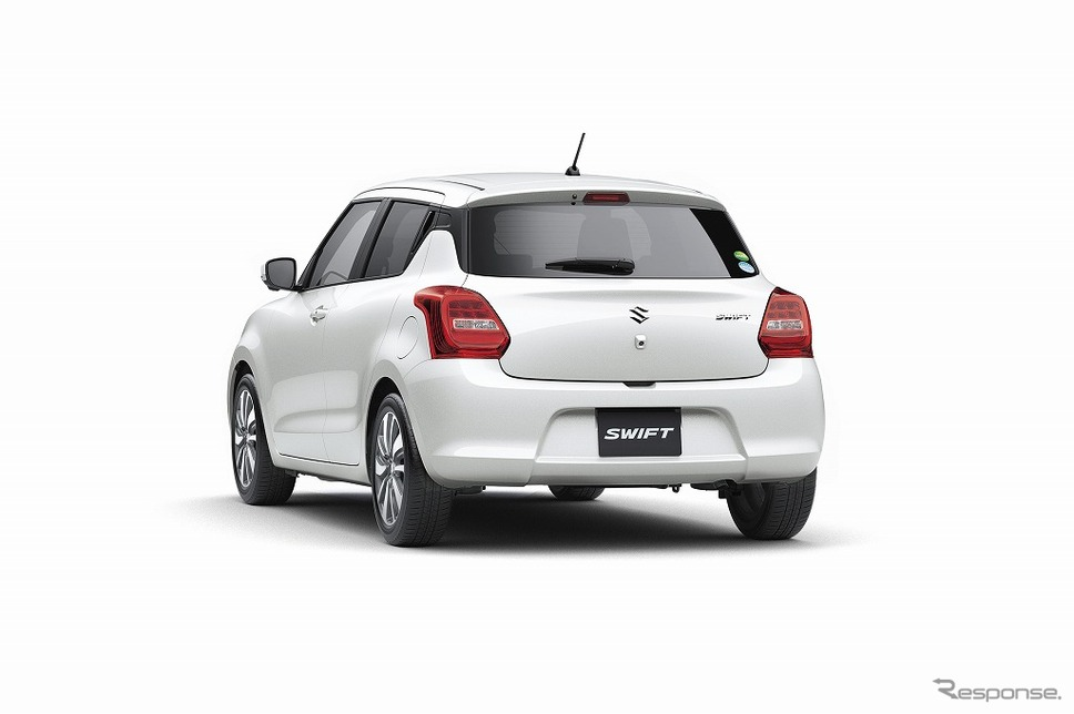 2017 Suzuki Swift Launched in Japan 5