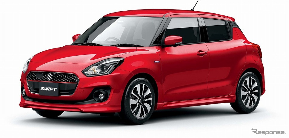 2017 Suzuki Swift Launched in Japan 2