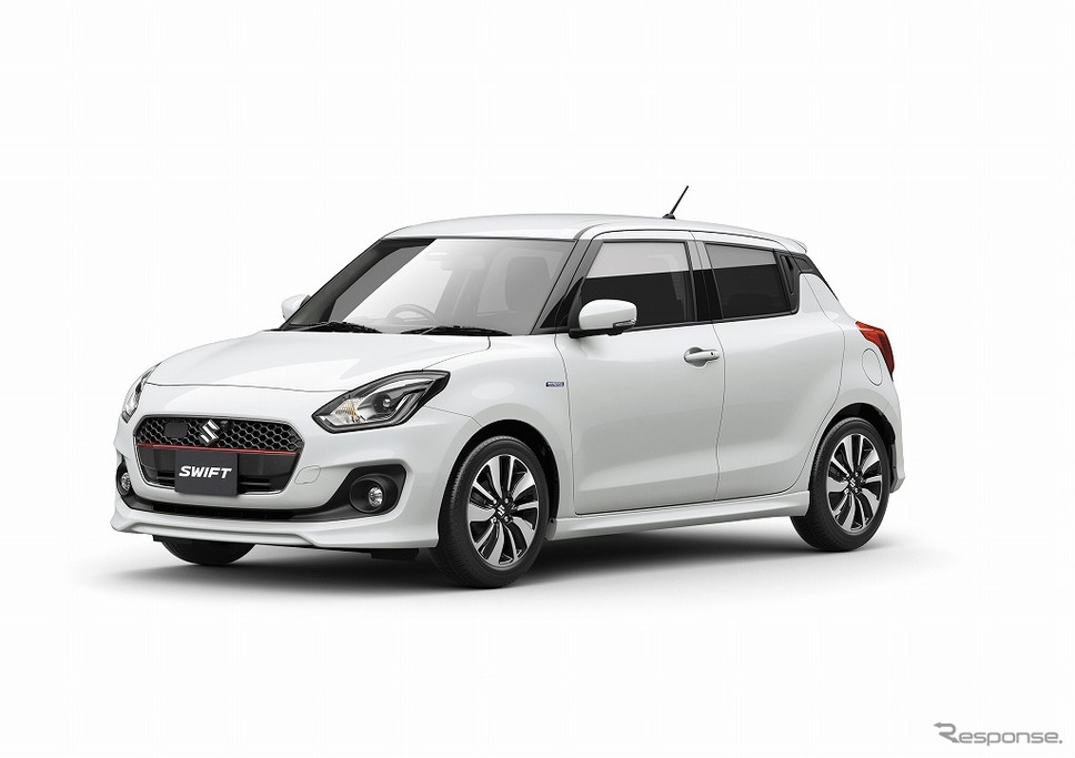 2017 Suzuki Swift Launched in Japan 4