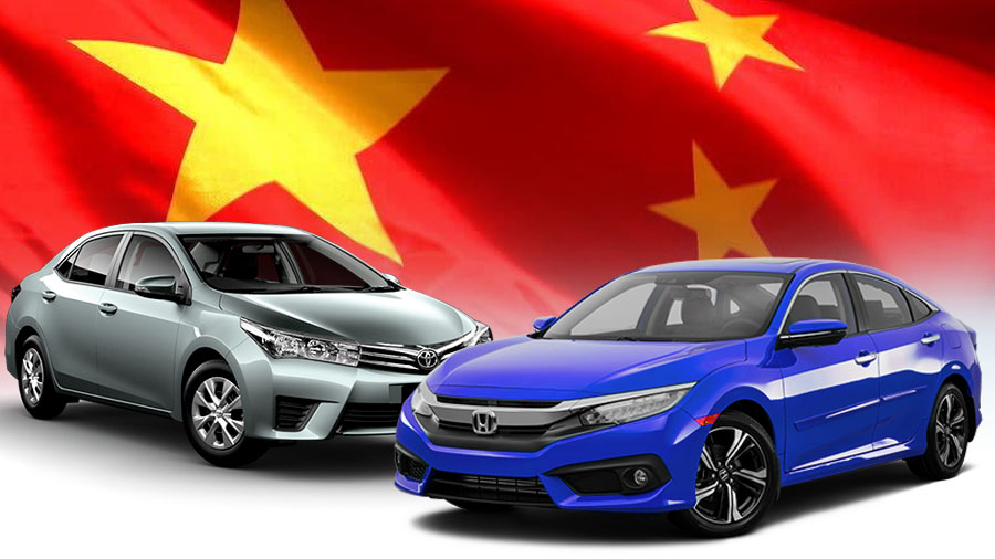 Honda Outsells Toyota in China for the First Time 7