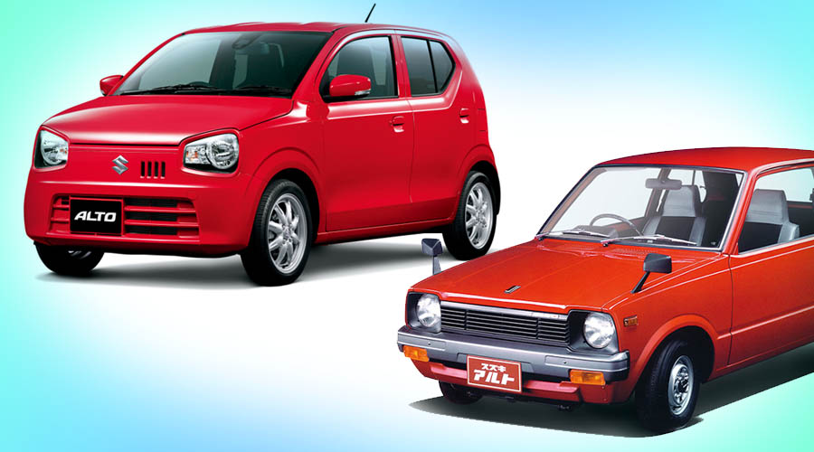 Evolution of Suzuki Alto and 5 Million Sales in Japan 7