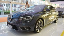 Renault Showcased New Megane Sedan at Bologna Motor Show 2