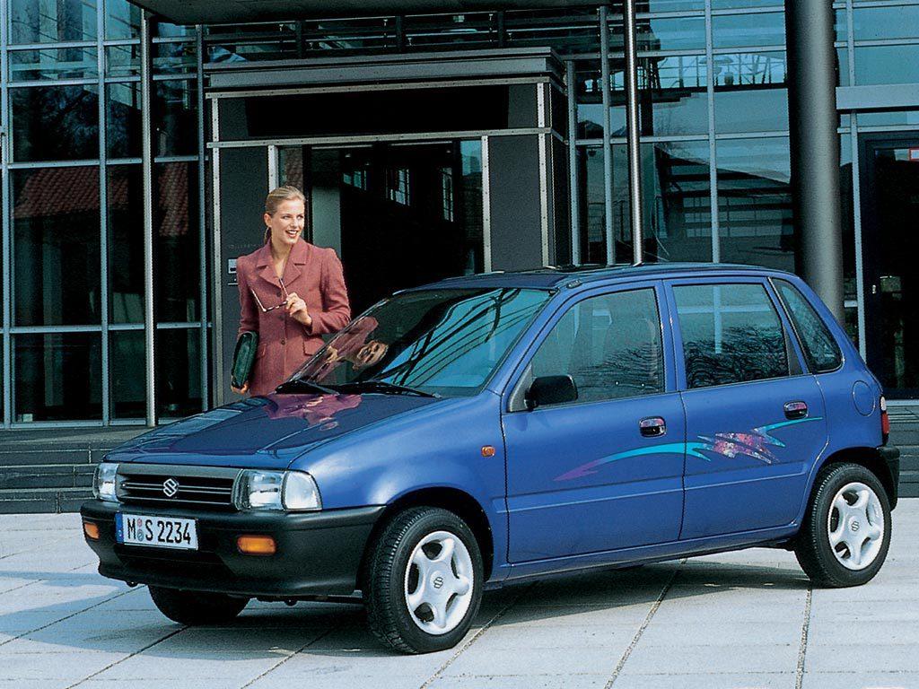 Suzuki Alto- Then and Now 8