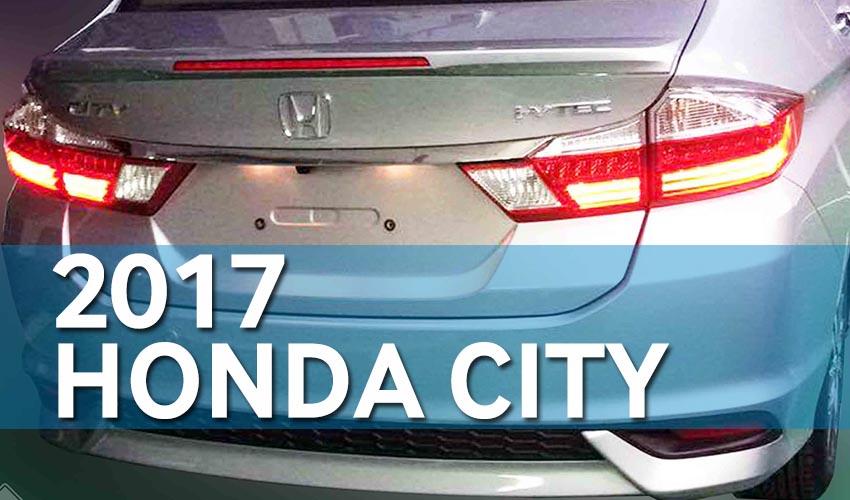 2017 Honda City Exterior Leaked 1