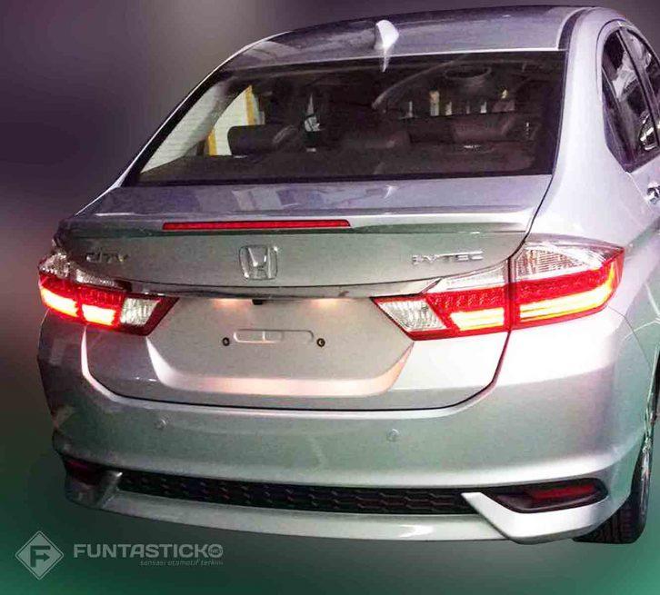 6th gen Honda City Facelift Revealed 5