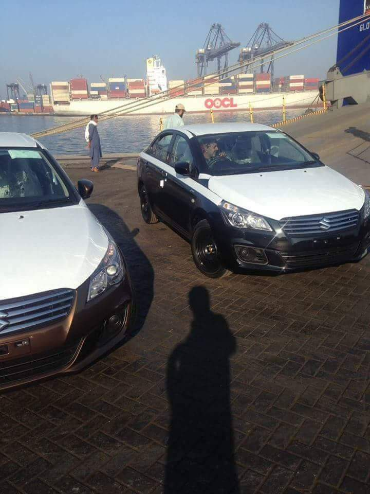 200 Units of Suzuki Ciaz reached Karachi Port 5