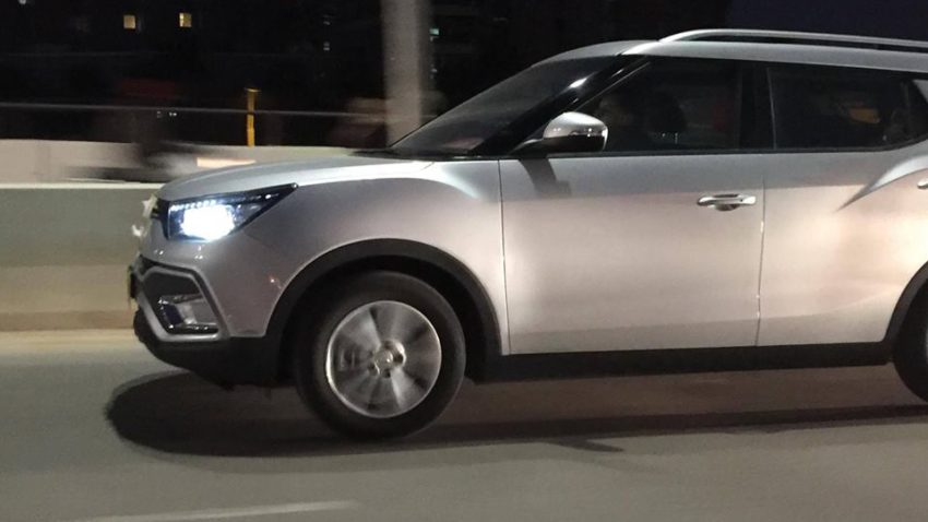SsangYong Tivoli Spotted Testing Again 2