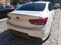 2017 Kia Rio Sedan Spied Undisguised in Mexico 4