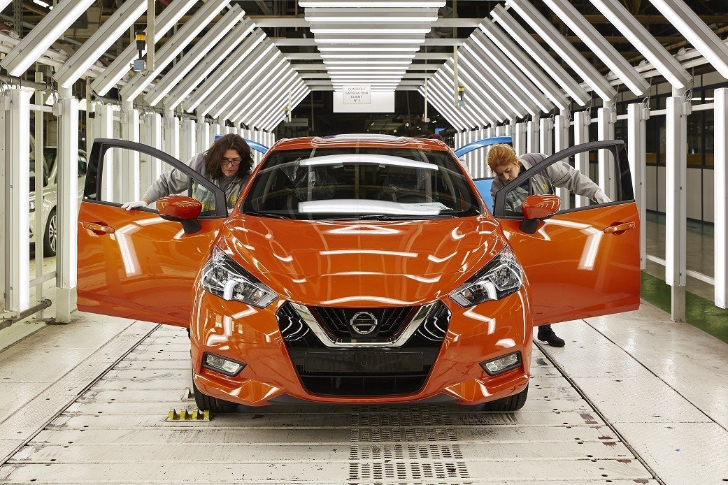 Production of 2017 Nissan Micra Commences in Europe 1
