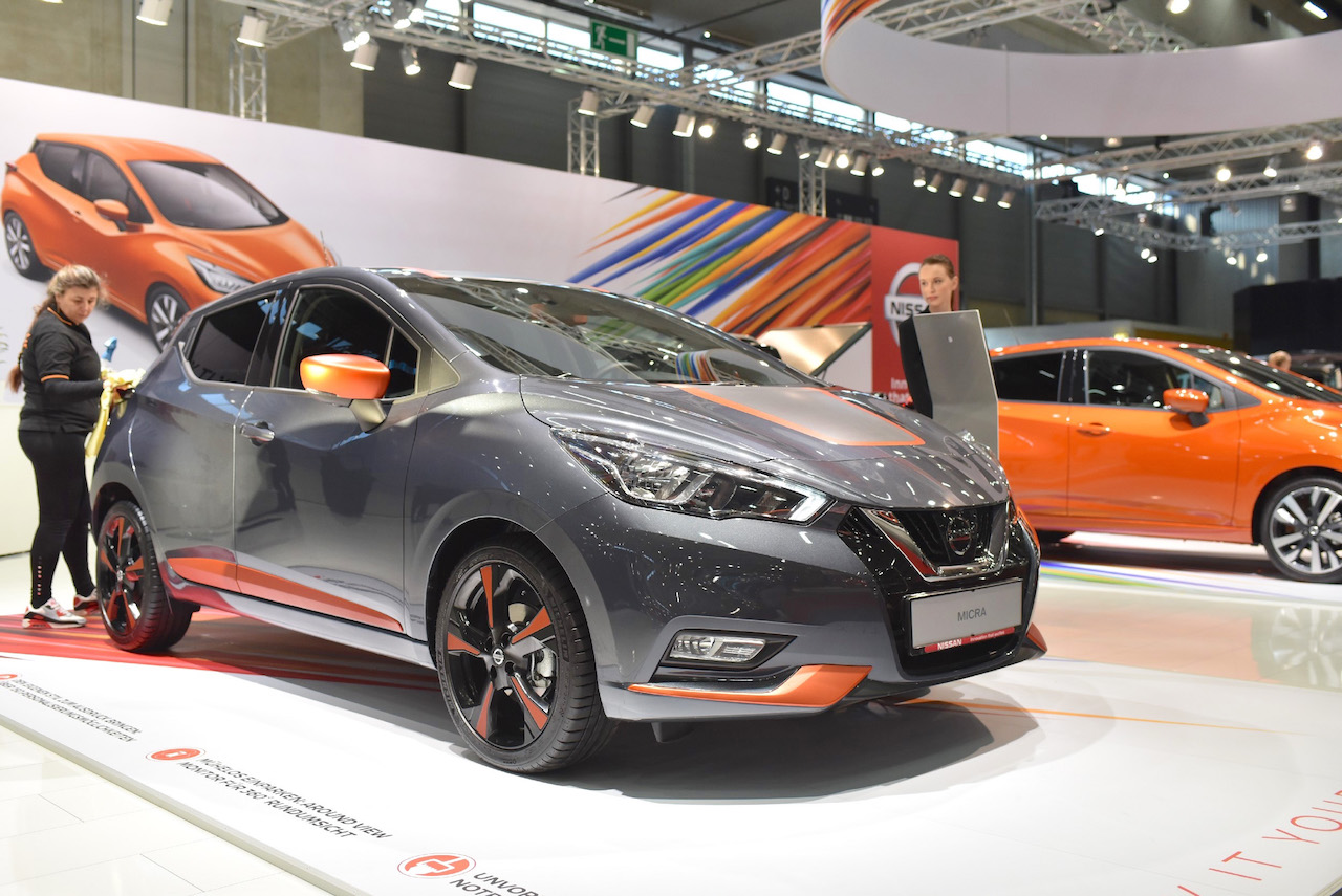 Production of 2017 Nissan Micra Commences in Europe 2