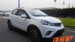 Official Photos of the Geely Emgrand Mini 4