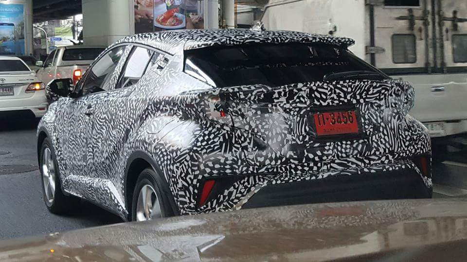 Toyota C-HR Spotted Testing in Thailand 2