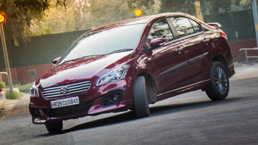 Suzuki Ciaz Facelift to be Launched in India 5
