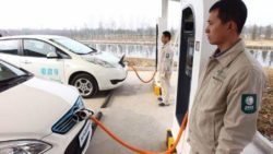 Production and Sales of Chinese EV Rank First Among the World for Two Consecutive Years 2