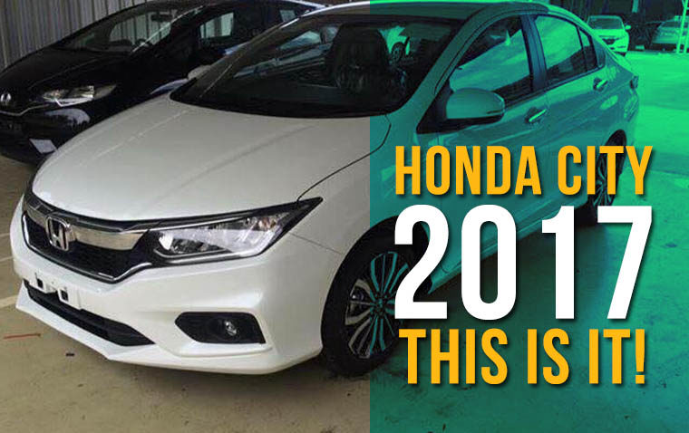 2017 Honda City Facelift- This is it! 2