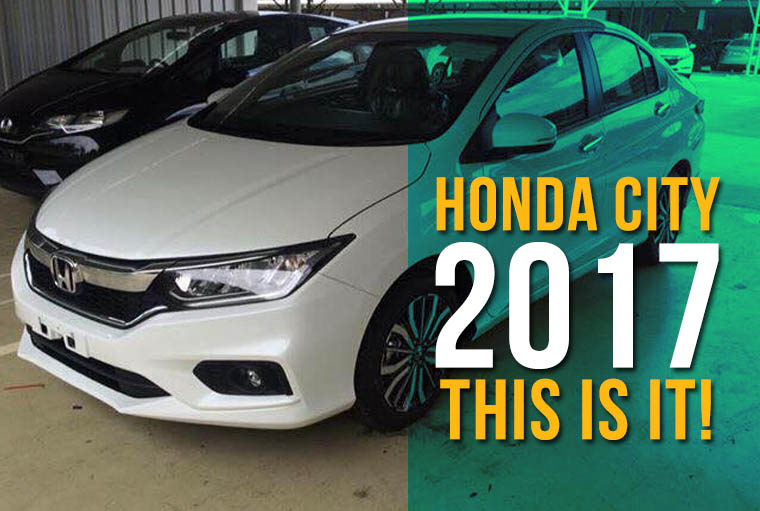 2017 Honda City Facelift- This is it! 1