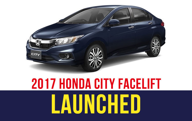 2017 Honda City Facelift Launched in Thailand 4