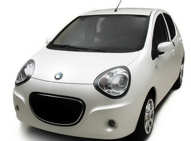 Official Photos of the Geely Emgrand Mini 2