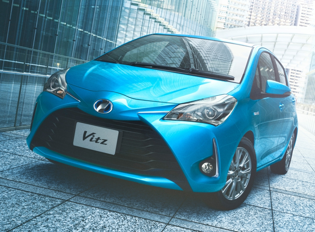 2017 Toyota Vitz Facelift Launched in Japan 26