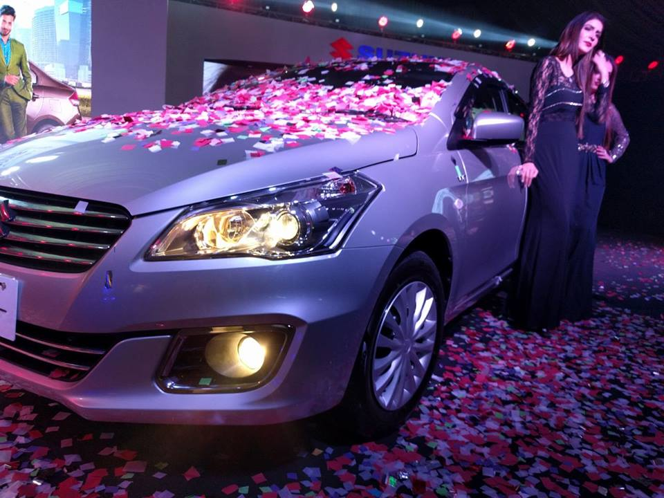 Pak Suzuki Officially Launches the Ciaz Sedan 17