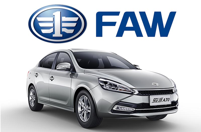FAW in China Posts Record Sales in January 21