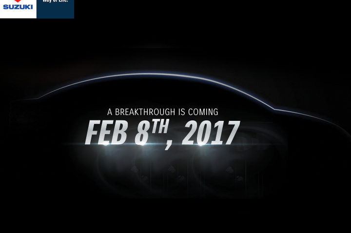 Official Launch of Suzuki Ciaz on 8th February 2