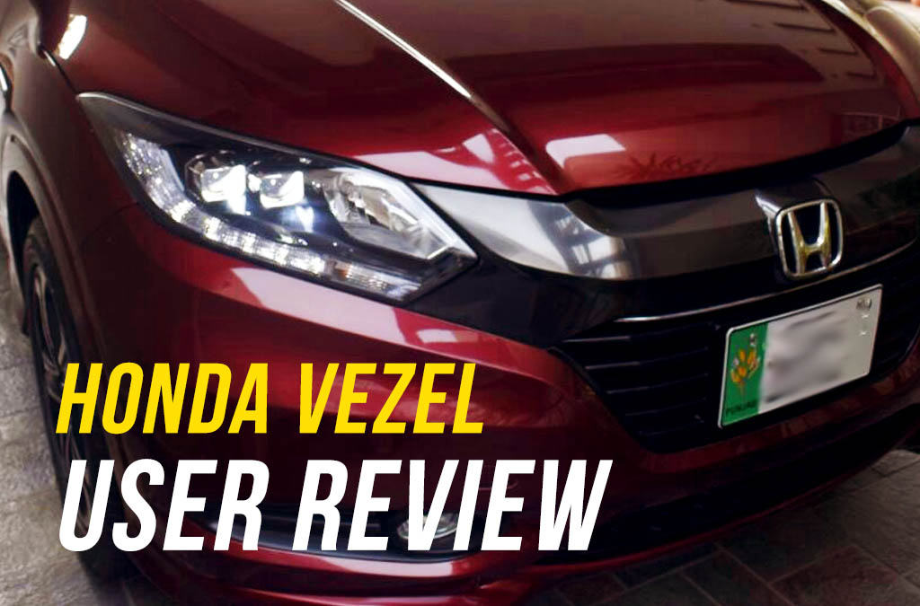 User Review: Honda Vezel of Ahmad Zaheer 16
