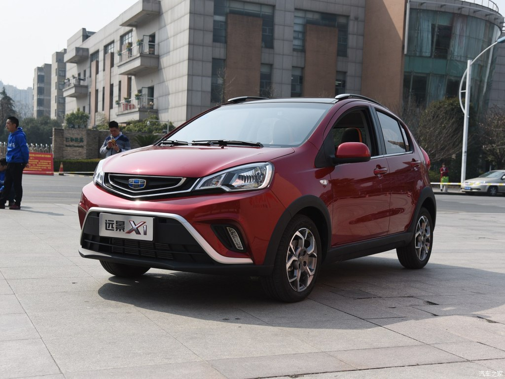 Geely X1 (Emgrand Mini) Revealed to Media Ahead of Official Debut 21