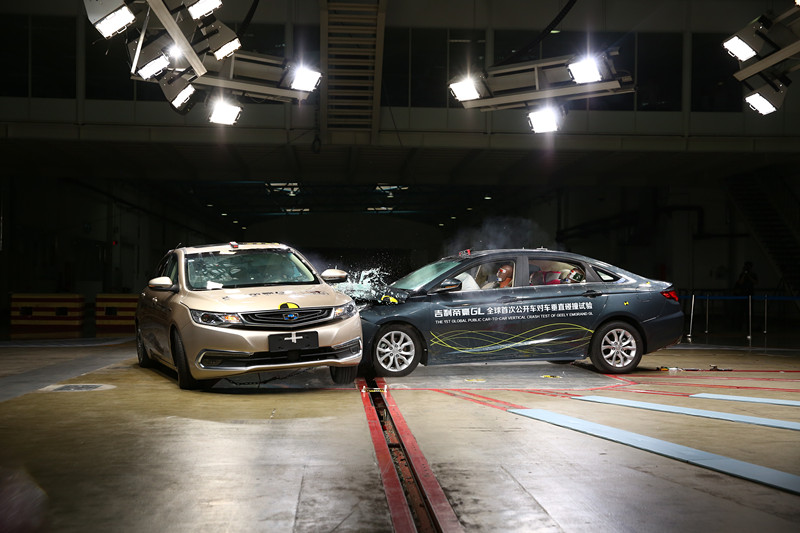 C-NCAP Tests World's First 90 Degrees Car-to-Car Collision 1
