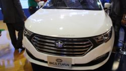 FAW B30 at Pakistan Auto Show 2017 3