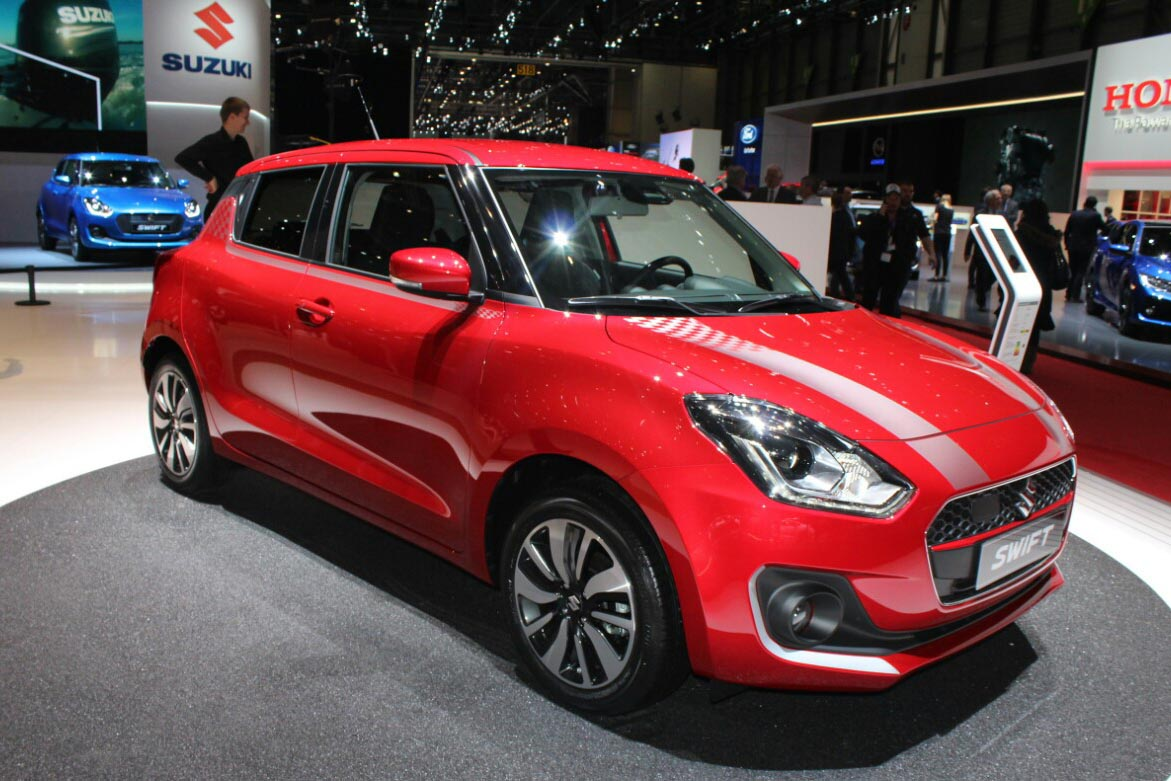 New Suzuki Swift at 2017 Geneva Motor Show 30