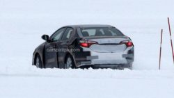 2019 Toyota Corolla Spied Testing in Cold Weather 6