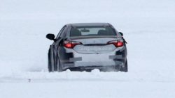 2019 Toyota Corolla Spied Testing in Cold Weather 7