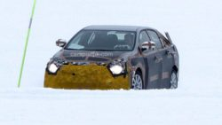 2019 Toyota Corolla Spied Testing in Cold Weather 2