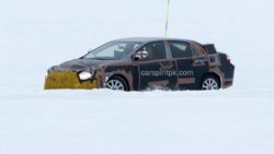 2019 Toyota Corolla Spied Testing in Cold Weather 3