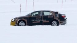 2019 Toyota Corolla Spied Testing in Cold Weather 4