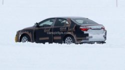 2019 Toyota Corolla Spied Testing in Cold Weather 5