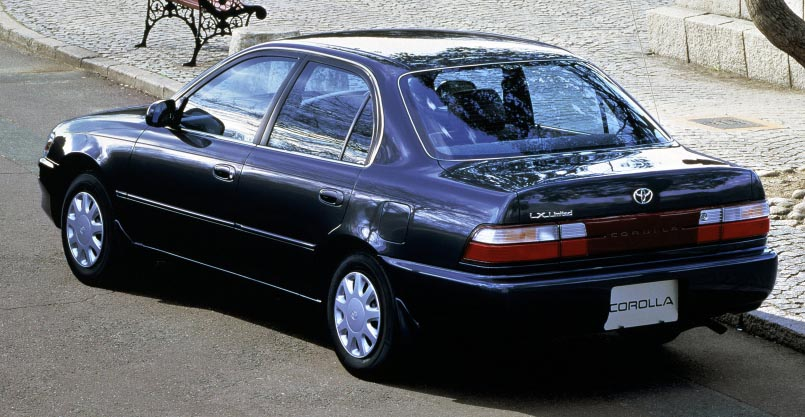 7th Generation Corolla E100- The Most Popular Corolla in Pakistan 7