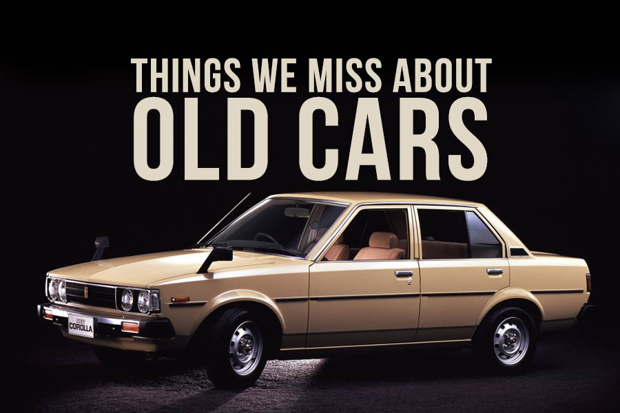 Things That We Miss About Old Cars 9