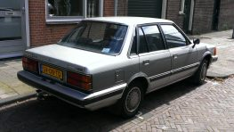 Daihatsu Charmant- A Reliable Sedan of the 1980s 4