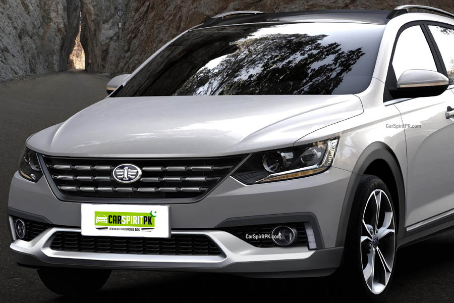 FAW Will Display a VW Inspired Wagon at Shanghai Auto Show 20