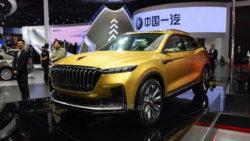 FAW At Shanghai Auto Show 2017 74