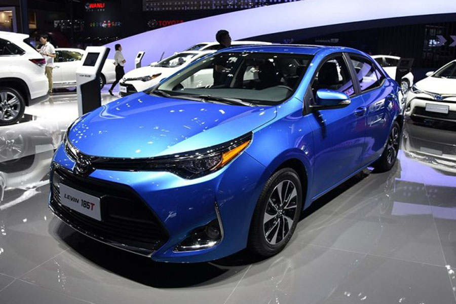 Toyota Levin Facelift At Shanghai Auto Show 2017 3