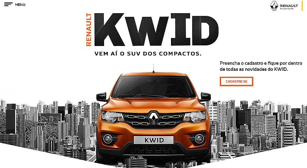 Renault Kwid for Brazil Gets Structural Changes To Make It Safer 2