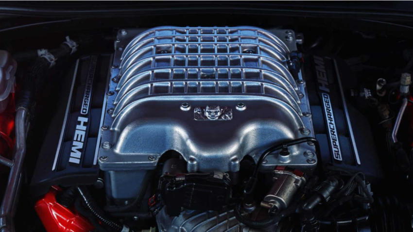 The 840 HP Dodge Challenger SRT Demon 2018 1