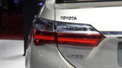 Toyota Corolla Facelift At Shanghai Auto Show 2017 10