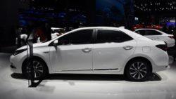 Toyota Corolla Facelift At Shanghai Auto Show 2017 19
