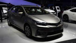 Toyota Corolla Facelift At Shanghai Auto Show 2017 1